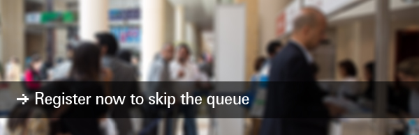 Register now to skip the queue